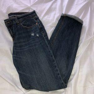 Old Navy ripped boyfriend jeans